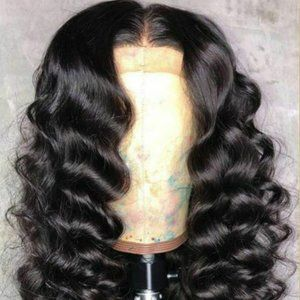 100% Human Hair Lace Front Wig